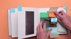 What a fantastic pop-up book! Great ideas to use for cards, a great video. Too bad I cannot read the language.
