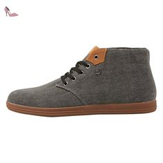 Copal Mid, Baskets Basses Homme, Gris-Grau (Grey 01), 45 EUBritish Knights