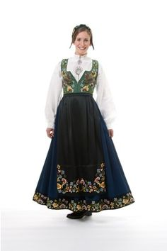 "The original ""Gudbrandsdalen festbunad"" from Gudbrandsdalen, Oppland, Norway Folk Costume, Costumes, Silver Accessories, Traditional Outfits, Pretty Woman, Vintage Photos, Norway, Bridal Dresses, Most Beautiful"