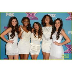 Demi Lovato Fifth Harmony 'X Factor' Finale Party! ❤ liked on Polyvore