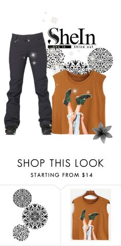 """""""Camel Graphic Shirt"""" by reader-fashion-lover ❤ liked on Polyvore featuring Redbean"""
