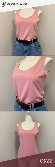 Vintage Daniel Laurent Shirt Vintage sleeveless shirt by Daniel Laurent Material is light and stretchy, but very sturdy Gorgeous blush pink colour Perfect condition polyester spandex Made in Canada 🇨🇦 Women's size medium Vintage Tops Vintage Tops, Vintage Pink, Vintage Ladies, Pink Color, Top Colour, Sleeveless Shirt, Blush Pink, Camisole Top, Canada