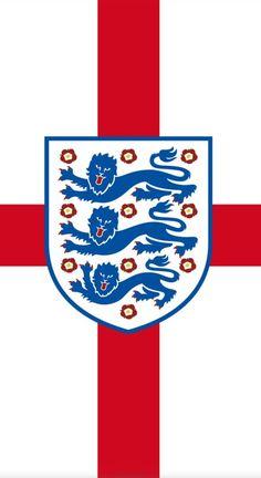 Uk Flag Wallpaper, Football Wallpaper, Iphone Wallpaper, England Badge, Manchester United Wallpaper, England National Team, England Football, Logo Background, Funny Signs