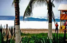 Playa Zicatela, Puerto Escondido.