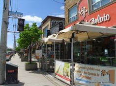 Leaside - one of Toronto's best shopping districts on Bayview Avenue