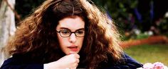 Pin for Later: 28 Princess Diaries Moments That Will Make You Psyched for the New Sequel When She Blows Her Hair Out of Her Face in This Weirdly Endearing Way