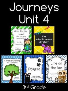 Journeys Unit 4 (Third Grade)