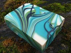 Summit hand-crafted soap by Tree Frog Soaps.  A bold, refreshing sporty scent.