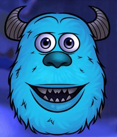 monster parti, draw sulley, monster university