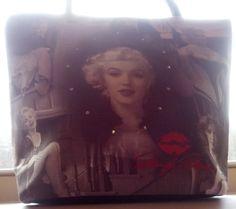 Marilyn Monroe Vintage Handbag Purse by DirtySouthVintagee on Etsy
