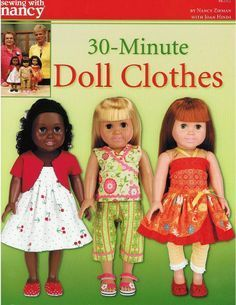 18 doll clothes patterns free printable | Fancywork & Fashion.com