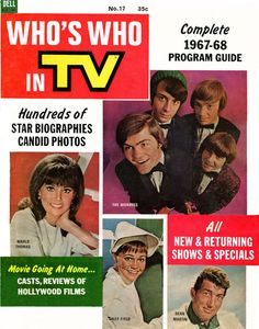 Who's Who in TV — 1967-68 Program Guide