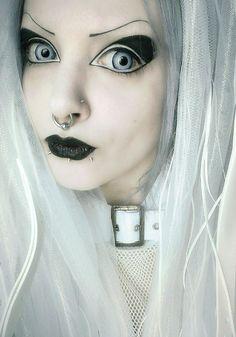 Cyber Goth Girl Makeup Makeupview Co