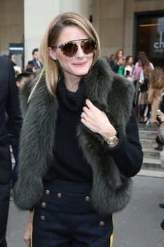 Olivia Palermo looks on the week of haute couture in Paris who have not seen