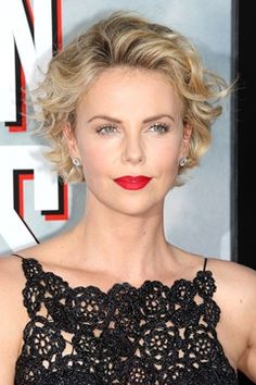 Charlize Theron Red Carpet Hair And Hairstyles (Vogue.com UK)