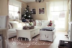 -eautiful - especially the floors!  BELLE BLANC: Merry Christmas!