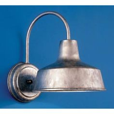 Galvanized wall sconce $63.86