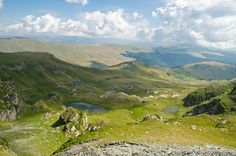 Beautiful mountainous Romania
