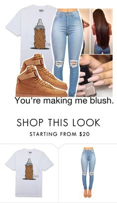 """""""#62"""" by brianna-pina ❤ liked on Polyvore featuring NIKE"""