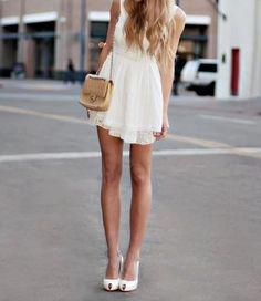 Dresses are always good.