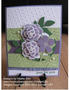 Hayley's Paper Garden: Happy Birthday Mynnette ~ BLOG HOP!