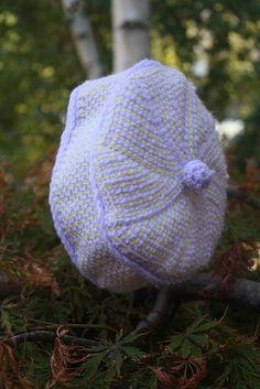 , Tunisian Crochet Pill Box Baby Hat