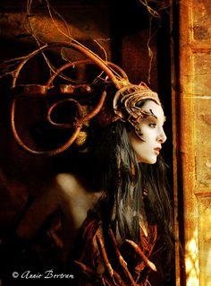 The obsolete Angel II by Annie-Bertram.deviantart.com on @DeviantArt