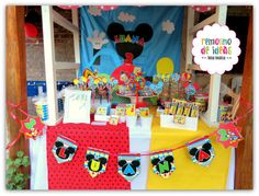 Mickey Mouse Clubhouse Birthday Party Ideas | Photo 1 of 27 | Catch My Party