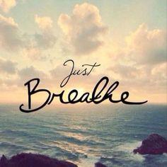 Atme durch