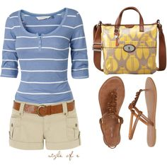 Affordable Summer Ensemble, created by styleofe