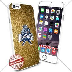 New iPhone 6 Case Utah State Aggies Logo NCAA #1652 White Smartphone Case Cover Collector TPU Rubber [Gold] SURIYAN http://www.amazon.com/dp/B015CWENOO/ref=cm_sw_r_pi_dp_gxJxwb0ZWWF41
