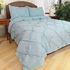Park B. Smith® Ltd Pouf Down Alternative Comforter Set in Aegean Teal