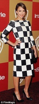 Spring 2013 fashion trends: Bold chequered patterns will be everywhere - Daily Mail