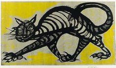 Cat by Cecil Skotnes