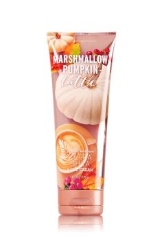 Marshmallow Pumpkin Latte Ultra Shea Body Cream - Cozy up with a blend of…