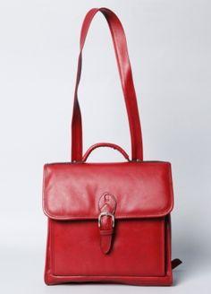 Montague Convertible Leather Satchel