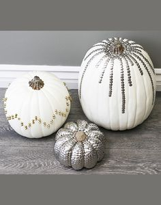 12 No-Carve Pumpkin Ideas to do this Halloween! #weddingchicks http://www.weddingchicks.com/10-no-carve-pumpkin-ideas/