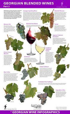 Georgian Blended Wines – Part Two - Georgian Wine Infographics Wine Infographic, Infographics, Whisky, Wine Folly, Chateauneuf Du Pape, Chenin Blanc, Wine Vineyards, Wine Education, Wine Sale