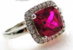 Fashion & style in one, this gemstone ring is made with a princess cut red ruby. A beautiful design and a testament to cutting edge jewellery styles. Stylish Jewelry, Fashion Jewelry, Princess Cut, Ring Designs, Heart Ring, Count, Gemstone Rings, Glamour, Gift Ideas