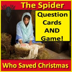 The Spider Who Saved Christmas by Raymond Arroyo - NOVEL UNIT. Includes 40 questions and answer for class discussions, questions cards for student independent or group work, and a Jeopardy style game to review the novel or have fun during a holiday party!The questions and cards are printable, but t... Bible Resources, Reading Resources, Classroom Resources, Reading Skills, Teacher Resources, Religious Studies, Religious Education, Bible Studies, Raymond Arroyo