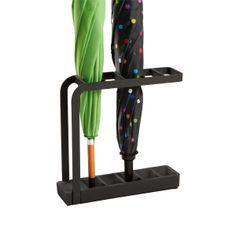 Slimline Umbrella Stand Black