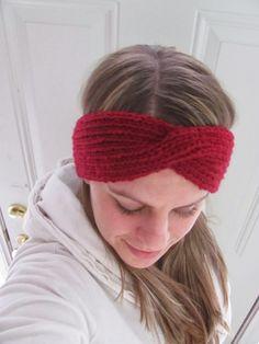 Winter Headband with a Twist (Knit)