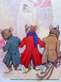 Three Blind Mice - Nursery Rhyme, 1910s
