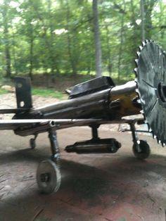 Scap metal Bomber art
