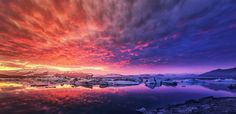 The Kingdom of Fire and Ice by PatiMakowska.deviantart.com on @DeviantArt