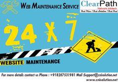 Web Maintenance Service Company
