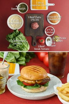 We're showing you the secret sauce behind the Snack Shack's signature Shack Burger recipe. Served on a brioche bun with American cheese, tomato, lettuce and special Shack Sauce — this is a mouthwatering meal that's sure to transport you to Perfect Day at CocoCay. #RoyalCaribbean #Food #Recipe Burger Recipes, Gourmet Recipes, Cooking Recipes, Beef Pepper Steak, Shack Burger, Brioche Bun, Beef Patty, American Cheese, Tasty Dishes