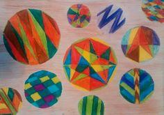 Verónica nos obsequió con esta composición llena de color!