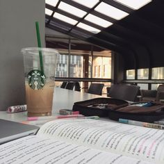 """ameistudies: """" May 31 2016 3:40pm / current study situation & coffee - lots of coffee … ☕️ """""""