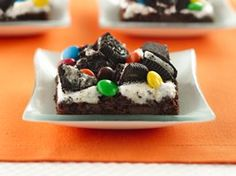 Gooey Chocolate Cookie Bars Recipe from Betty Crocker